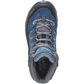 Salewa Alp Trainer Mid GTX Shoes Junior Dark Denim/Charcoal